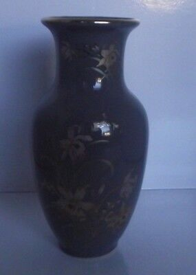 """1970s JAPANESE """"GREY MIST """" FINE PORCELAIN VASE HEIGHT 6 INCHES (15CM) 2 AVAIL"""