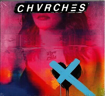 Chvrches - Love Is Dead Digipak CD Iain Cook/Lauren Mayberry/Martin Doherty NEW