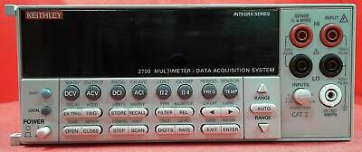 Keithley 2700 DMM/Presicion Data Acquistion System