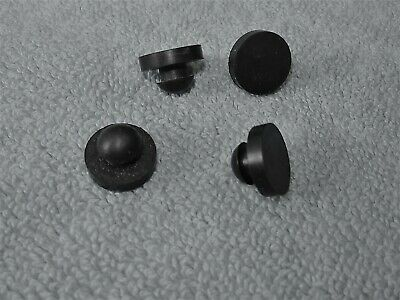 4 each KIRBY LESTER  REPLACEMENTS - NEW RUBBER FEET  Fit KL-15e &  KL-15 + INFO