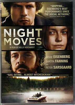NIGHT MOVES The MOVIE on DVD of ENVIRONMENTALISM Dakota Fanning JESSE EISENBERG!