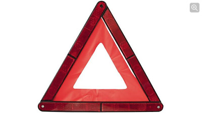 Warning Triangle Eu Approved Emergency Breakdown Red With Stand Halfords