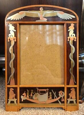 Early 20th Century Egyptian Photo Frame c1922