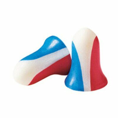 Howard Leight USA Shooters Earplugs, (10) Pair Pack, Red/White/Blue #R-01891