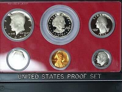 1979-S Proof Set w/ Type 2 Clear S Variety - Z - XE