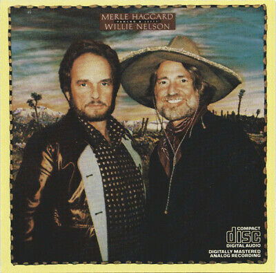CD Merle Haggard and Willie Nelson Pancho & Lefty Epic