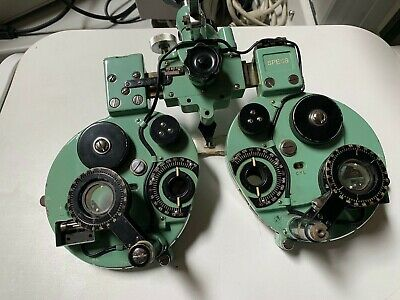 Bausch & Lomb Greens Phoropter (SPECS) Minus Cylinder