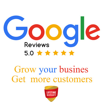 Google Reviews - Choose your package  ⭐⭐⭐⭐⭐ USA Verified - 100% SEO SAFE