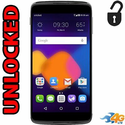 NEW UNLOCKED CRICKET Alcatel ONETOUCH Idol 3 LTE 16GB 6045O Android Cell  Phone