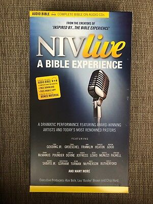 NIV AUDIO BIBLE Dramatized! Complete Holy Bible 79 Audio