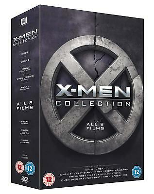 X Men Collection DVD New 2016 Region 2