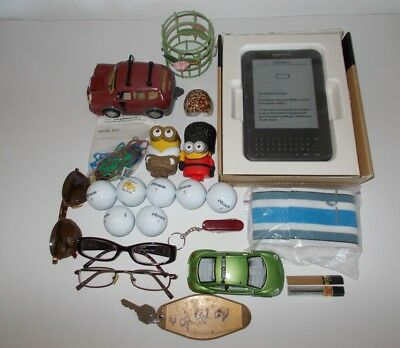 Junk drawer lot 3 misc assorted nice items AS IS condition see photos pre owned
