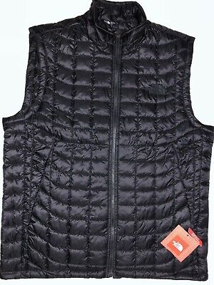 a07c5ee45 NWT THE NORTH Face Men Thermoball Tnf Black Vest Standard Fit 100% Authentic