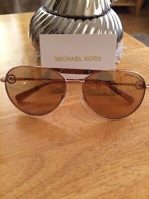 fc2dc7294c7bf MIchael Kors Sunglasses MK 5001 58-14-135 1003R1 Scratch On Left Side Lens