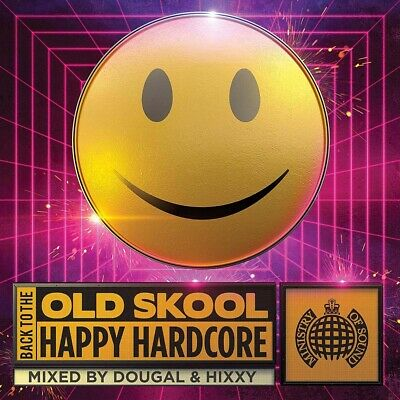 Back To The Old Skool Happy Hardcore CD Box Set New 2019