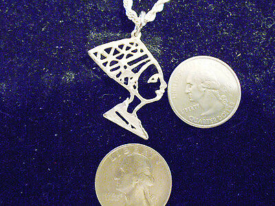 silver plated MYTH legend egyptian queen FASHION pendant charm Necklace jewelry
