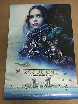 ROGUE ONE: A STAR WARS STORY 2016 Original 27x40 DS Int'l Movie Poster B