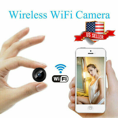 Mini Spy Camera Wireless Wifi IP Home Security 1080P DVR Night Vision Remote LOT