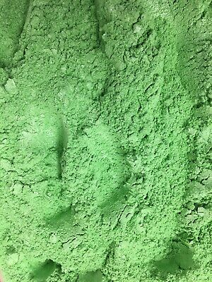 10g GREEN MICA POWDER - soap candle polymer resin cosmetic eye craft colour bomb