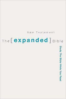 The Expanded Bible New Testament: Study The Bible While You Read by