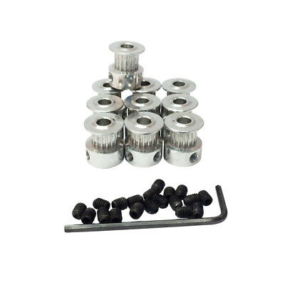 T2.5 Timing Belt Aolly Pulley Bore 5mm Teeth Number 16 Pitch 2.5mm Pack of 10pcs