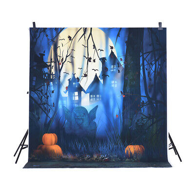 Andoer 1.5 * 2m Photography Background Backdrop Digital Printing Hallowmas E3Z9