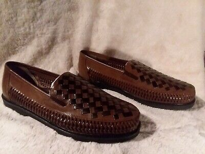 745b69e4f40 DEER STAGS MENS Tijuana Leather Closed Toe Penny Loafer