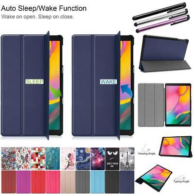 """For Samsung Galaxy Tab A 10.1"""" T510 Flip PU Leather Cover Smart Magnetic Case"""