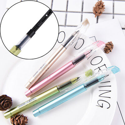 Plastic Calligraphy Fountain Pen Ink For Writing Gift Korean Stationery FS