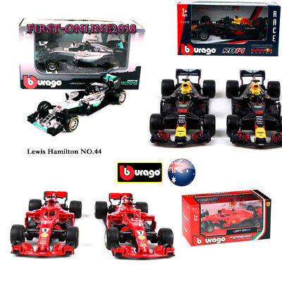 Formula One F1 Car Toy Models Ferrari Mercedes RedBull Race Collection Toy Gift