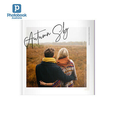 """Photobook Australia 8"""" x 8"""" Small Square Softcover Photobook, 40 pages"""