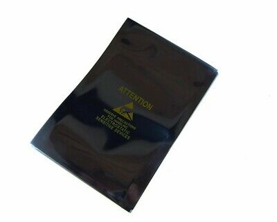 Static Shielding Anti-Static Bags Open End w/ Logo Yellow 15x20cm - Pack of 20