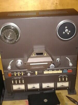 TASCAM .REEL TO REEL tape recorder new belt ..VERE GOOD CONDITION ..