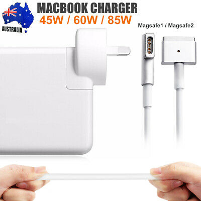 "For Apple MacBook Air/Pro MagSafe1/2 Power Charger 45-85W T L Adapter 11""13""17"""