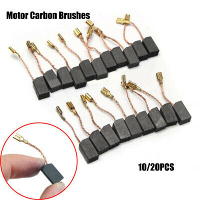 10/20 Pcs Mini Drill Electric Grinder Replacement Carbon Brushes Spare Parts