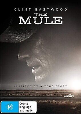 THE MULE (2019): Crime, Drama, Thriller, Clint Eastwood - NEW Au Rg4 DVD