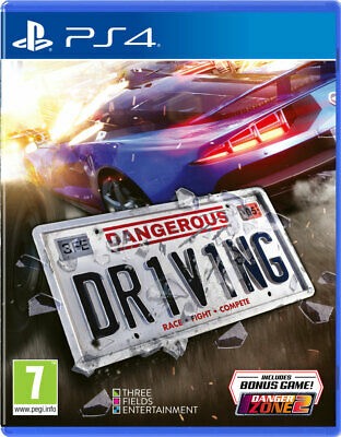 Dangerous Driving (PS4)  BRAND NEW AND SEALED - IN STOCK - QUICK DISPATCH