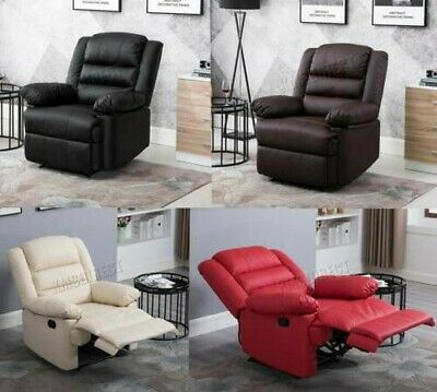 Westwood Luxe Place Cuir PU Cinema Fauteuil Inclinable Canapé Chaise Rs04