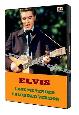 Elvis Presley Love Me Tender Colorized!!! DVD