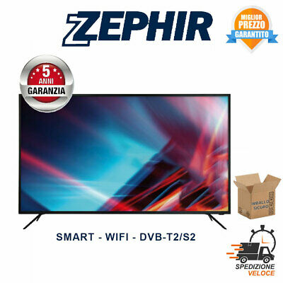 "Smart Tv Zephir 32 Pollici 32"" Led Hd Ready Decoder Dvb/T2/S2 Zvs32Hd Wifi"