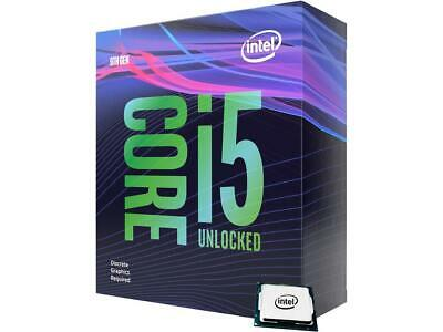 Intel Core i5-9600KF Coffee Lake 6-Core 3.7 GHz (4.6 GHz Turbo) LGA 1151 (300 Se