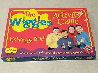 THE WIGGLES ACTIVITY Board Game Complete Anthony Jeff Greg Murray