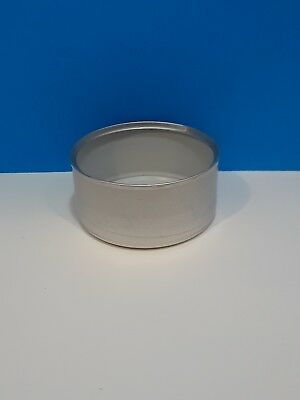 LOT OF 24 EMPTY TIN CANS FOR CRAFTS, CANDLE MAKING - 5.5 oz