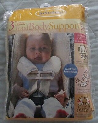 New Infantino 3 Piece total Body Support Set Comfortable Baby Support