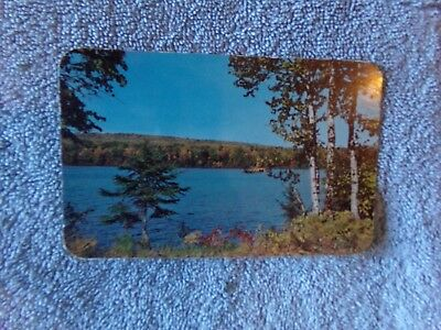 Vintage Postcard MAINE ~ Land O' Lakes   51246, Copyright 1951