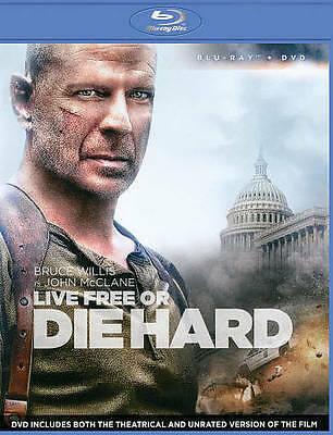 Live Free Or Die Hard [Blu-ray / DVD Combo]