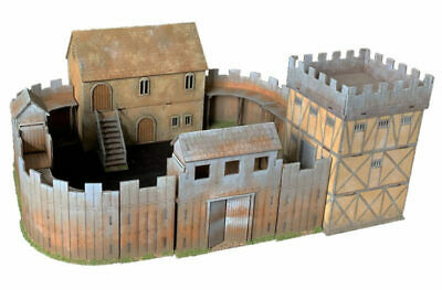 Dark Age FORTE Bundle  MDF 28mm scale Building J050