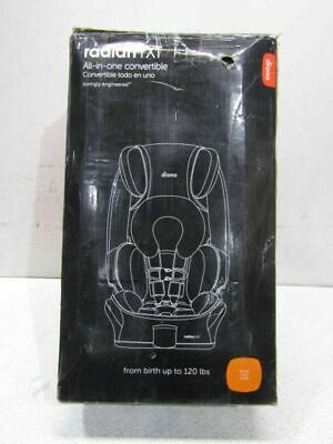 Diono Radian RXT All-In-One Convertible Car Seat In Black Cobalt, 50002