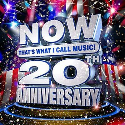NOW That's What I Call Music 20th Anniversary Audio CD NEW