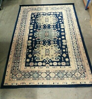 Vintage Persian/Moroccan Style Wool Rug 7.6ft x 5.3ft (Hospiscare)